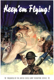 Keep 'Em Flying - Army Recruiting Service - 1941 - World War II - Recruitment Poster
