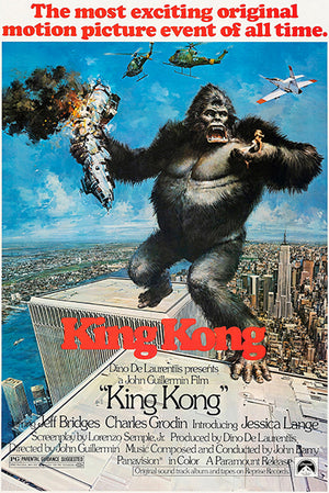 King Kong - 1976 - Movie Poster
