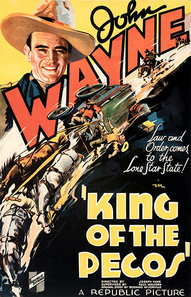 King Of The Pecos - 1936 - Movie Poster