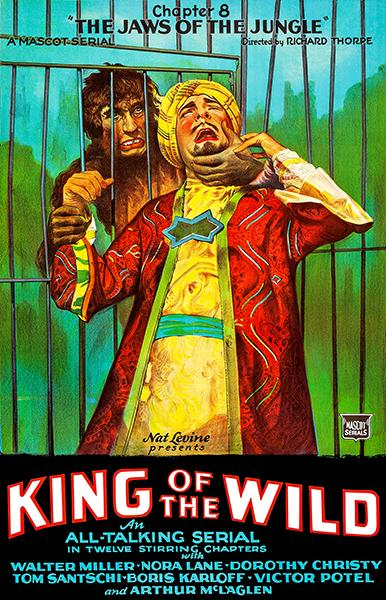 King Of The Wild - The Jaws Of The Jungle - 1931 - Movie Poster Mug