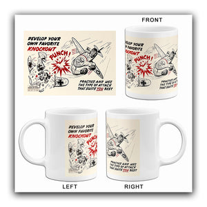 Knockout Punch - 1944 - Training Aids Aviation Mug