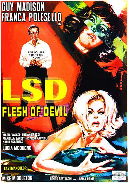 LSD Flesh Of Devil - 1967 - Movie Poster Mug