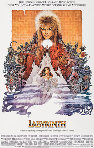 Labyrinth - 1986 - Movie Poster