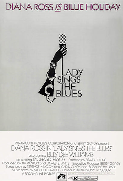 Lady Sings The Blues - 1972 - Movie Poster Magnet