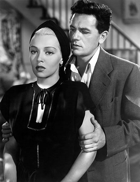 Lana Turner - John Garfield - The Postman Always Rings Twice - Movie Still Poster