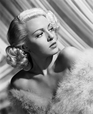 Lana Turner - Movie Star Portrait Poster