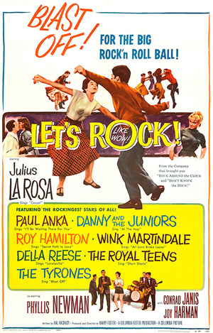 Let's Rock - 1958 - Movie Poster Magnet