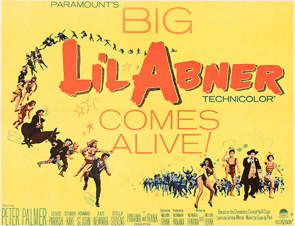 Lil Abner - 1959 - Movie Poster