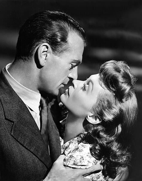 Lili Palmer - Gary Cooper - Cloak And Dagger - Movie Still Magnet
