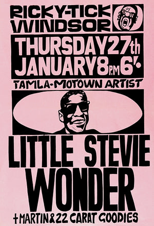 Little Stevie Wonder - 1966 - Concert Magnet