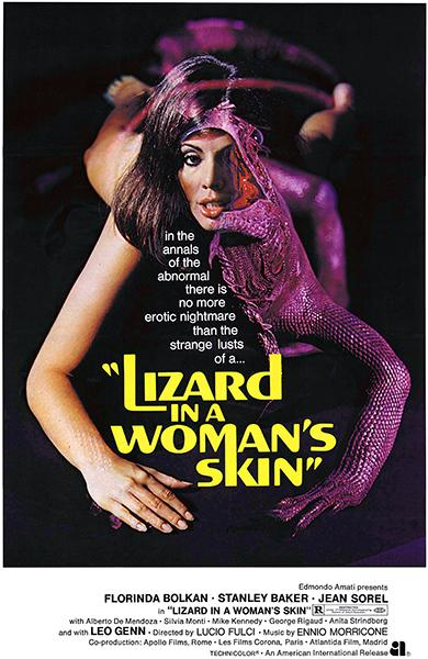 Lizard In A Woman's Skin - 1971 - Movie Poster Magnet