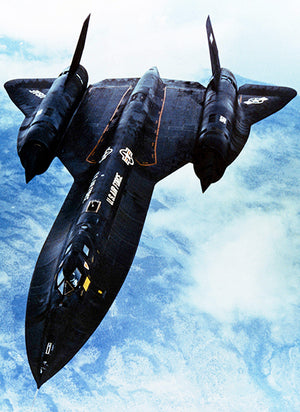 Lockheed SR-71 - Photo Poster
