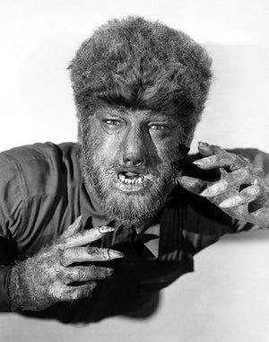 Lon Chaney Jr - The Wolfman - 1941 - Movie Still Photo Poster