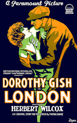 London - 1926 - Movie Poster Magnet