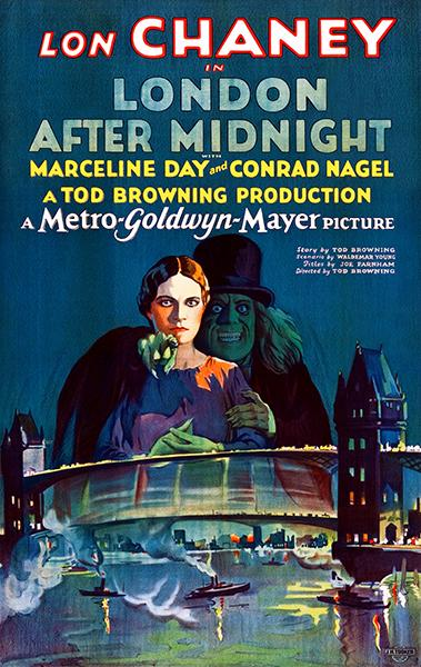 London After Midnight - 1927 - Movie Poster Magnet