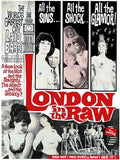 London In The Raw - 1965 - Movie Poster Magnet