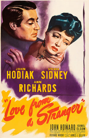 Love From A Stranger - 1947 - Movie Poster