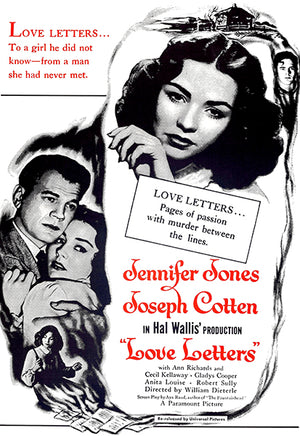 Love Letters - 1945 - Movie Poster Magnet