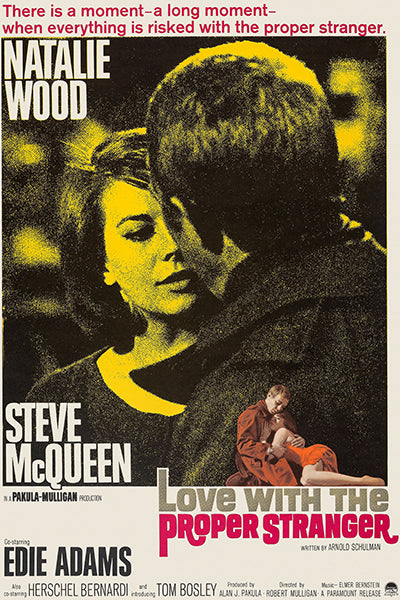 Love With The Proper Stranger - 1964 - Movie Poster