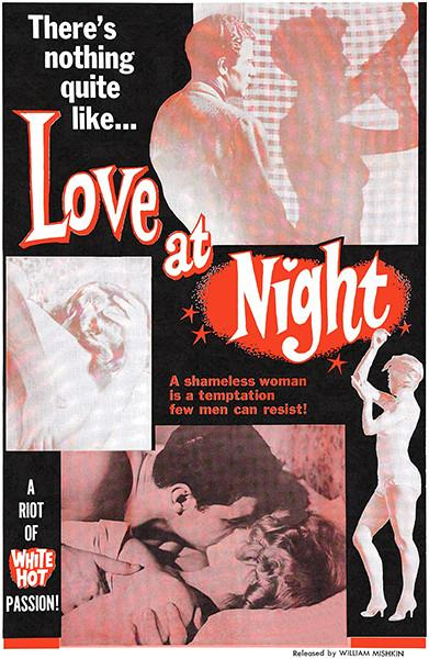 Love At Night - 1968 - Movie Poster Magnet