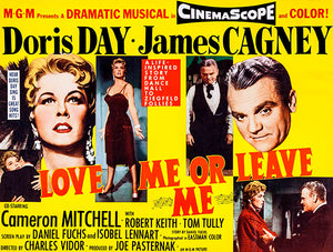 Love Me Or Leave Me - 1955 - Movie Poster