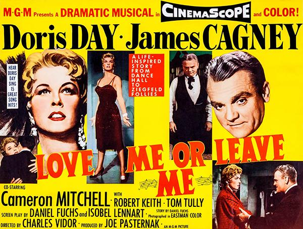 Love Me Or Leave Me - 1955 - Movie Poster Magnet