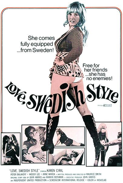 Love, Swedish Style - 1972 - Movie Poster Magnet