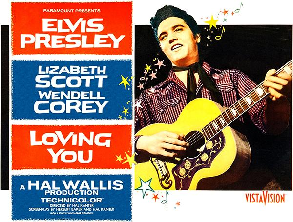Loving You - Elvis - 1957 - Movie Poster Magnet