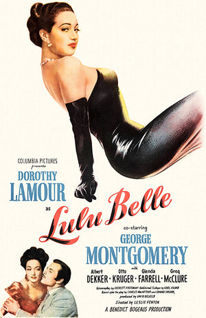 Lulu Belle - 1950 - Movie Poster