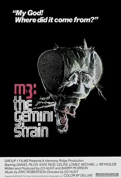 M-3 The Gemini Strain - 1978 - Movie Poster Magnet