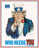 MAD Magazine #126 - Who Needs You - 1969 - Cover Poster
