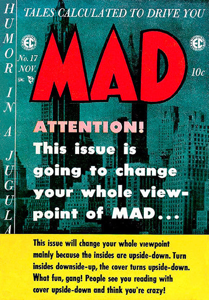 MAD Magazine #17 - November 1954 - Cover Poster