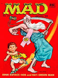 MAD Magazine #37 - January 1958 - Cover Mug