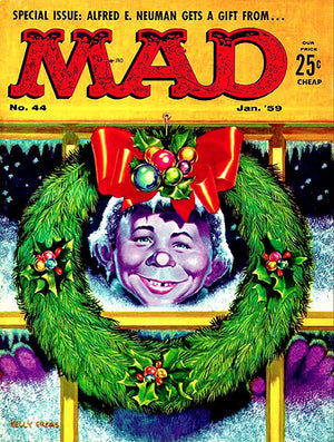 MAD Magazine #44 - January 1959 - Cover Poster
