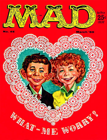 MAD Magazine #45 - March 1959 - Cover Poster