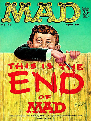MAD Magazine #46 - April 1959 - Cover Poster