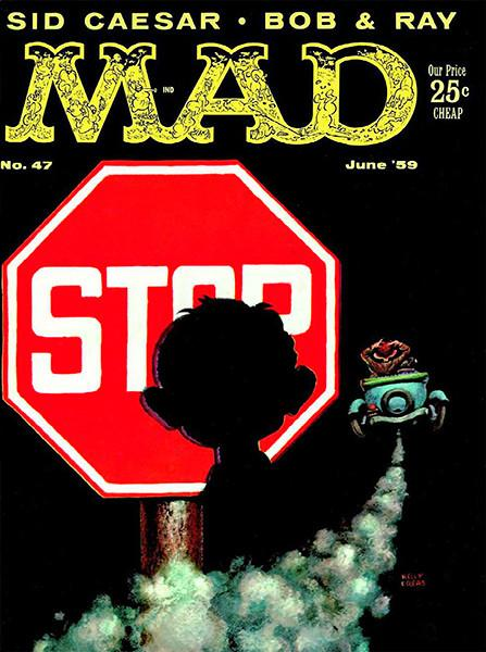 MAD Magazine #47 - June 1959 - Cover Magnet