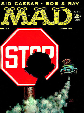 MAD Magazine #47 - June 1959 - Cover Poster