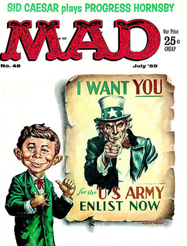 MAD Magazine #48 - July 1959 - Cover Poster