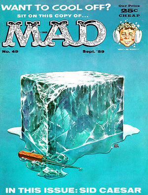 MAD Magazine #49 - September 1959 - Cover Poster