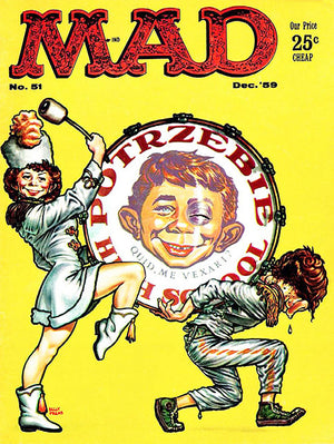 MAD Magazine #51 - December 1959 - Cover Poster