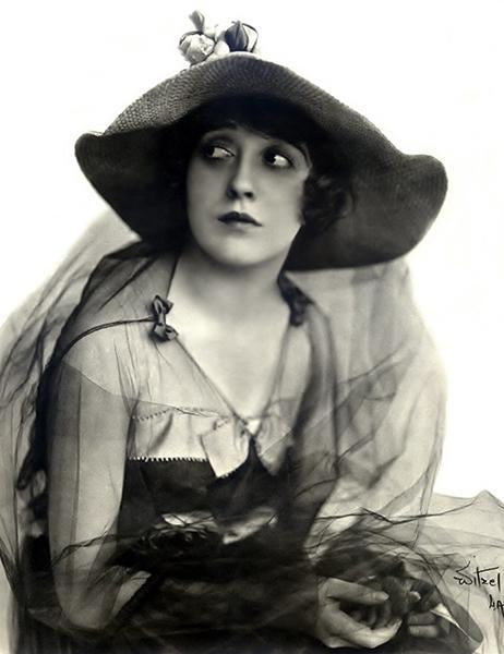 Mabel Normand - Movie Star Portrait Magnet
