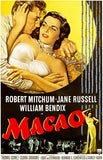 Macao - 1952 - Movie Poster Magnet
