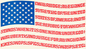 Mad Magazine - The Mad Flag - 1971 - POP Art Poster