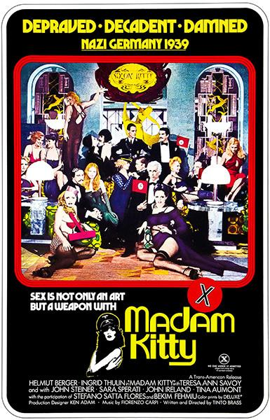 Madam Kitty - 1976 - Movie Poster Magnet