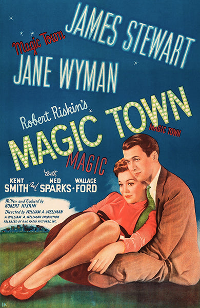 Magic Town - 1947 - Movie Poster