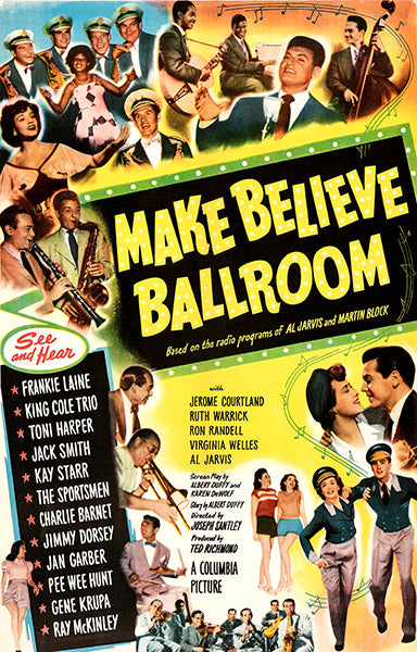 Make Believe Ballroom - 1949 - Movie Poster