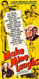 Make Mine Laughs - 1949 - Movie Poster Magnet