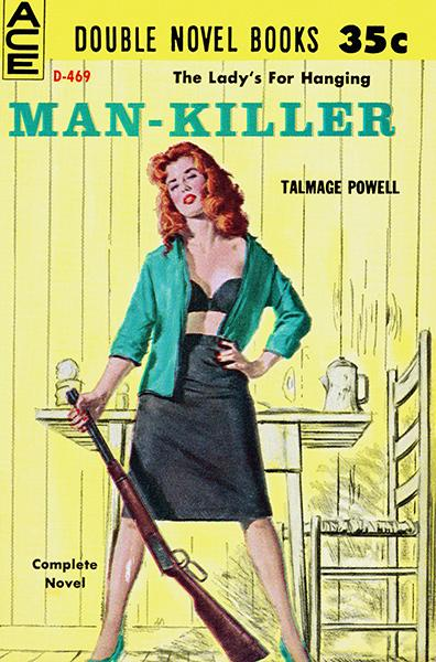 Man-Killer - 1960 - Pulp Novel Cover Magnet
