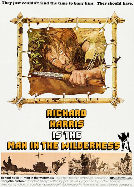 Man In The Wilderness - 1971 - Movie Poster Mug